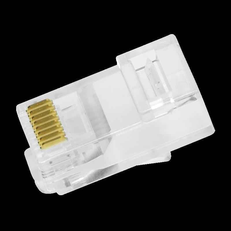 RJ-45 LogiLink MP0020 Conector para cable Ethernet transparente